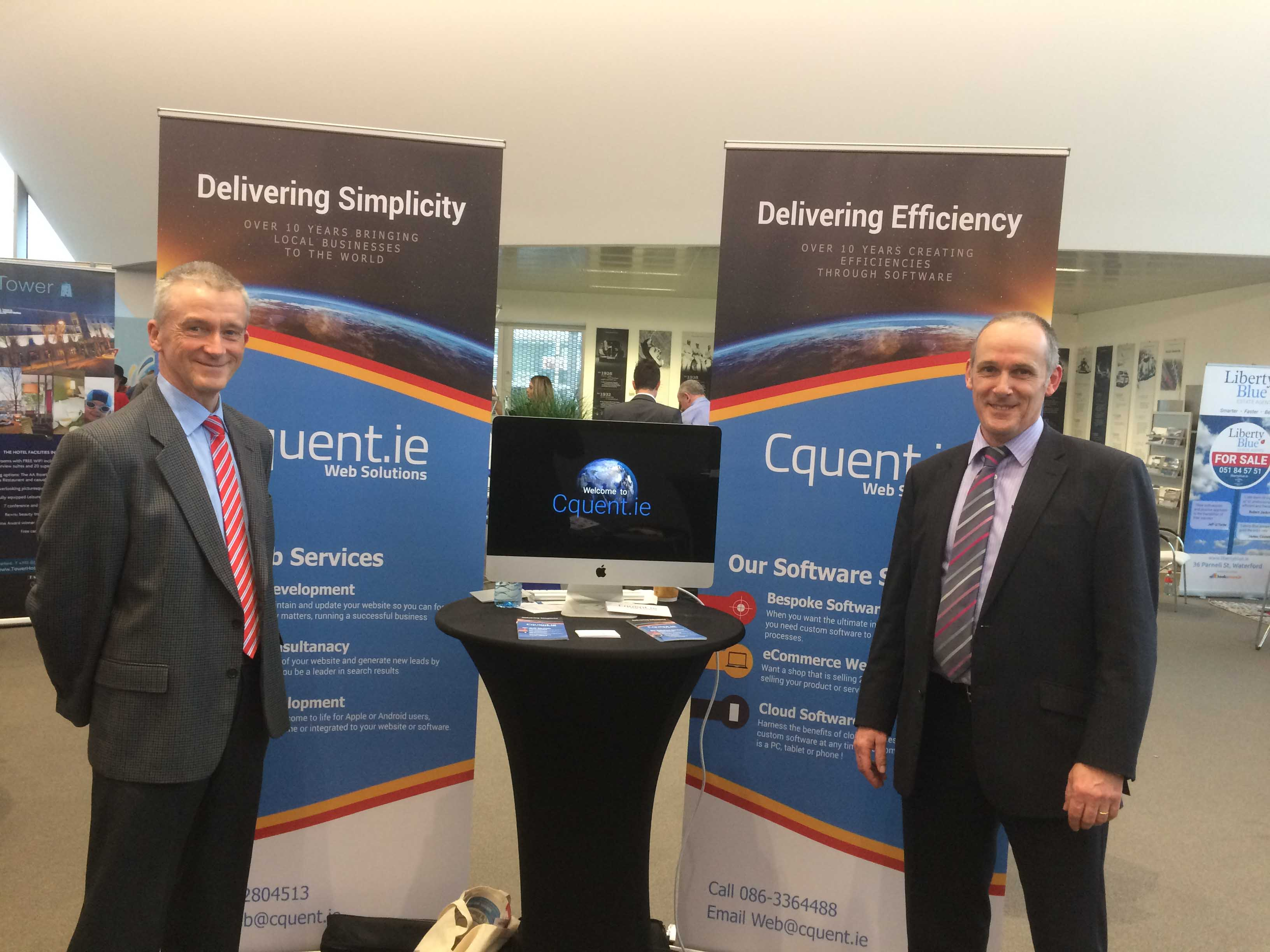 Cquent.ie at Waterford Chamber of Commerce Expo 2017 image